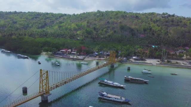 ドローン ヌサドゥア、インドネシアでの生活上の観点 - インドネシア点の映像素材/bロール
