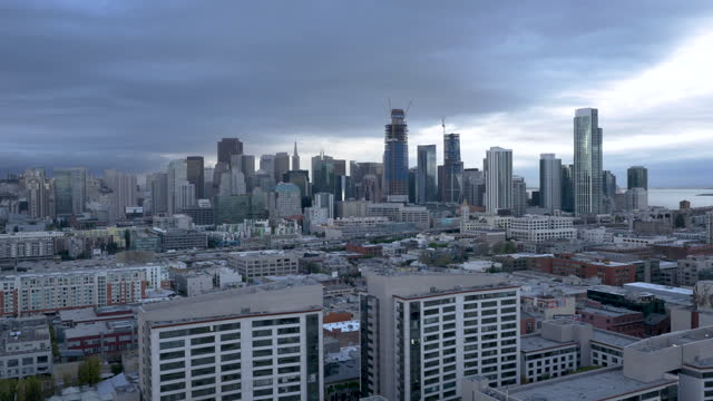 Drone San Francisco Bay 4K 24FPS