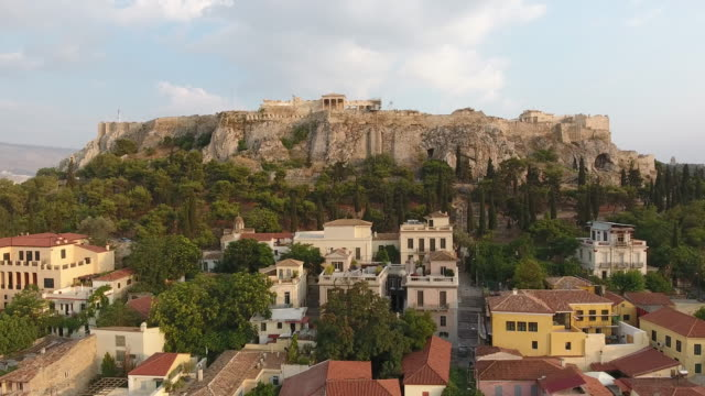 4K Drone Shot Of Acropolis video