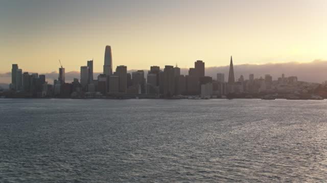 Drone Shot of San Francisco from Yerba Buena Island video
