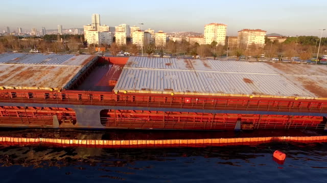 Drone Shot of Shipwreck video