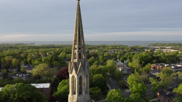 Drone Video Church Spire in Greenwich Connecticut Neighbourhood Drone Video Church Spire in Greenwich Connecticut Neighbourhood connecticut stock videos & royalty-free footage