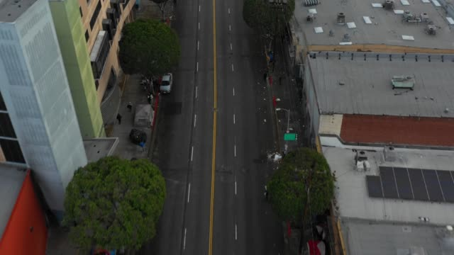 Drone video Skid Row LA Drone video Skid Row LA homelessness stock videos & royalty-free footage