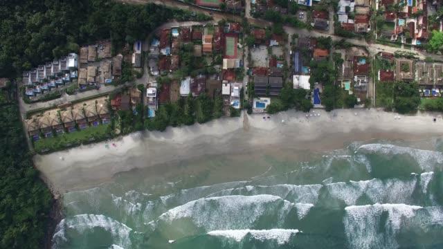 Drone View of Coastline video