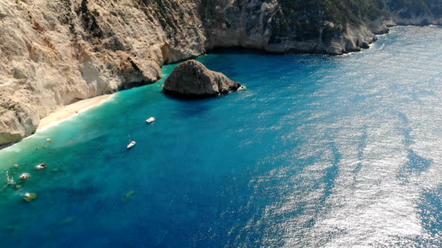 Drone view of Lefkada, Greece Drone view of Lefkada, Greece. greek islands stock videos & royalty-free footage