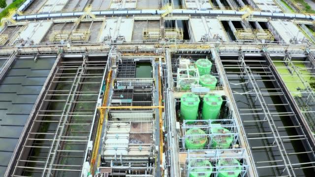 沙ティン下水処理工事のドローンビュー - 人の居住地点の映像素材/bロール