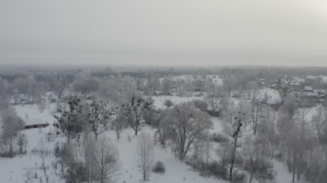 vídeos de stock e filmes b-roll de dronki village in chernobyl zone - bielorrússia
