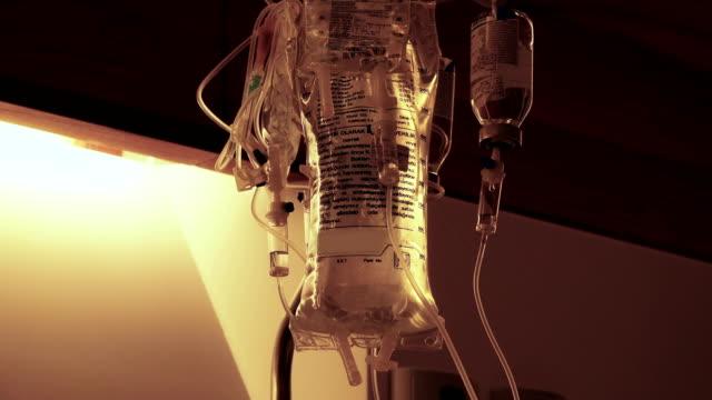 Dropper in a hospital, - video