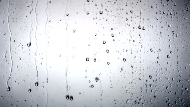hd: drops dripping down the glass - water bildbanksvideor och videomaterial från bakom kulisserna