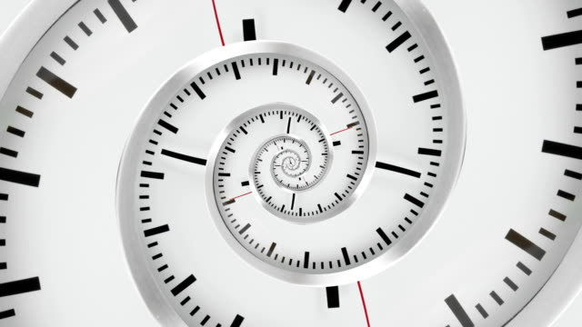 Droste effect - infinite time concept video