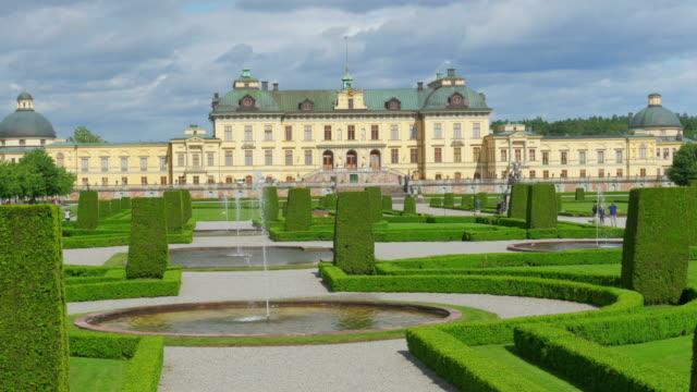 Drottningholm Palace, Stockholm, Sweden drottningholm palace, stockholm, sweden, timelapse, zoom in, 4k palace stock videos & royalty-free footage