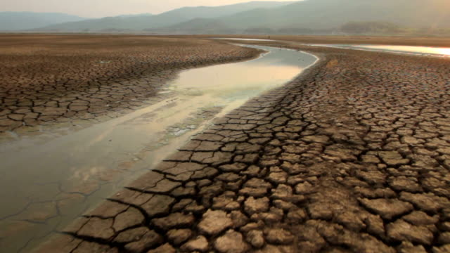 drought dry water - clima video stock e b–roll