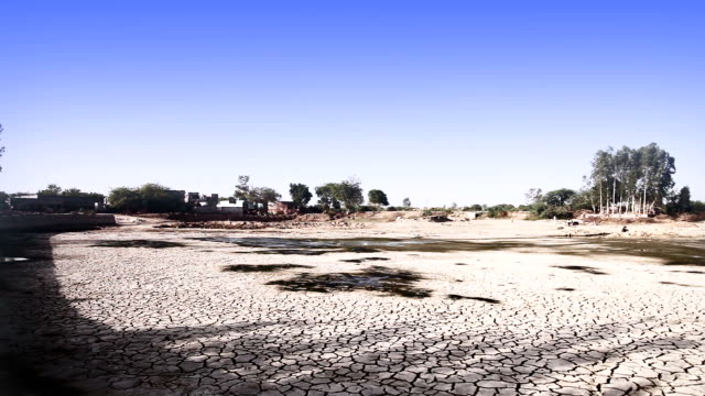 Drought land video