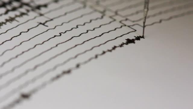 drum recorder measuring seismic signal drum recorder measuring seismic signal earthquake stock videos & royalty-free footage