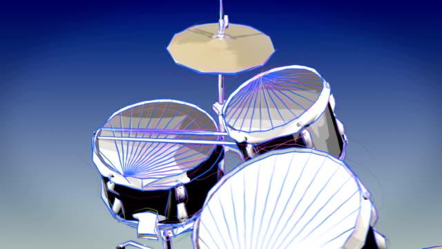 Drum set video