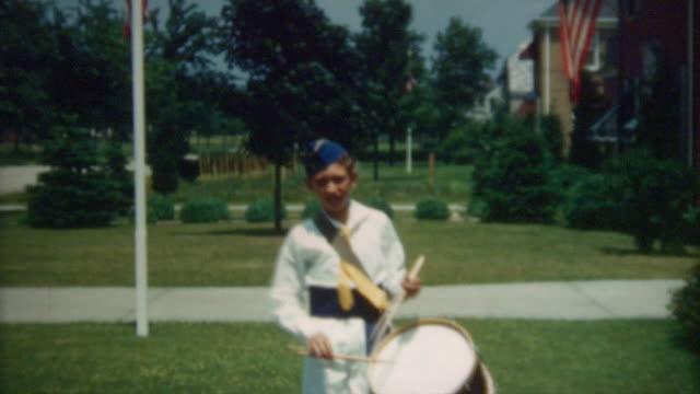 Drummer Boy 1940's video