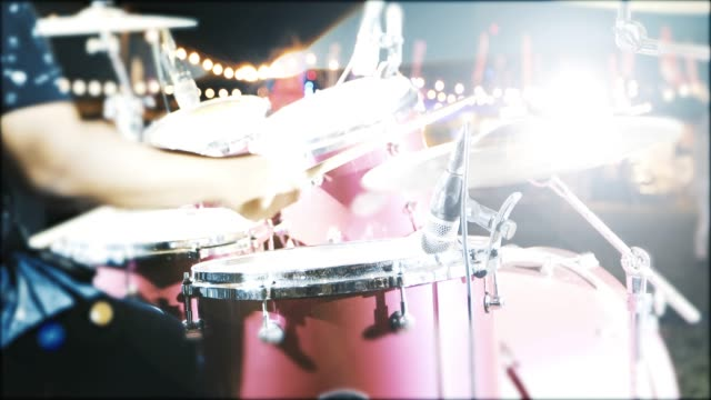 Drummer playing drums Solo In Concert video