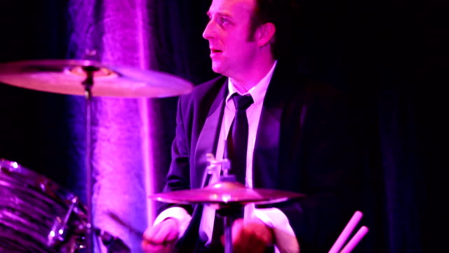 Drummer playing drums video