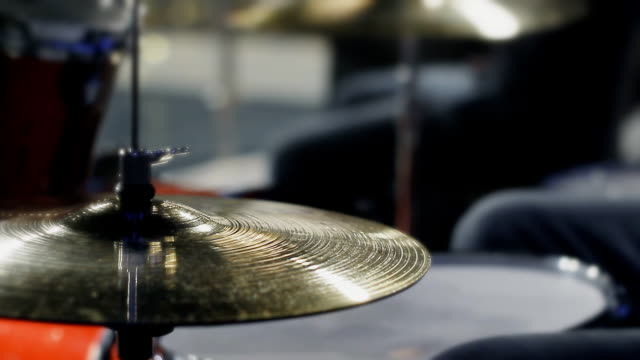 drummer playing the rhythm on the drums video