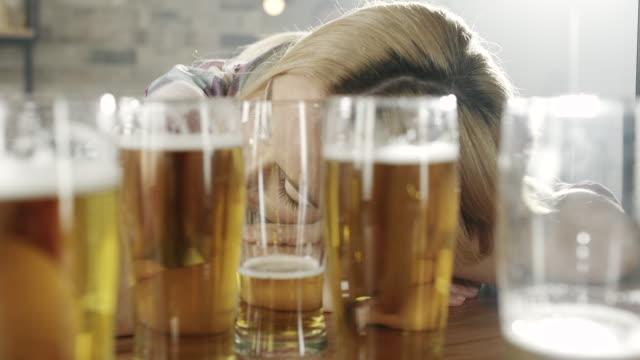 Drunk Woman video