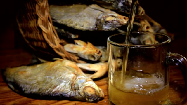 dry fish and beer video