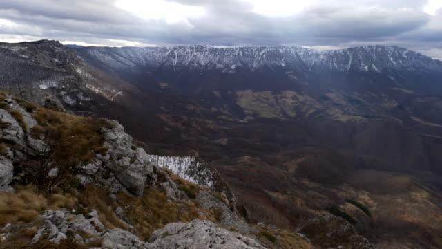 dry mountain - suva planina - serbia video stock e b–roll