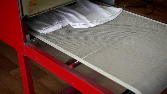 Drying machine working video