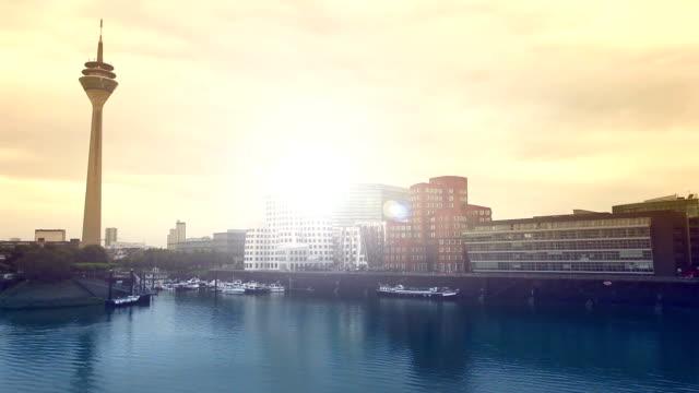 デュッセルドルフハーバー(カラー) ビデオ