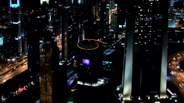 Dubai Cityscape Time Lapse Pan video
