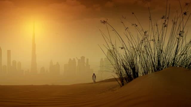 Dubai in Desert video