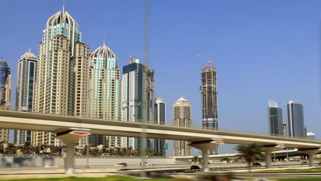 Dubai marina drive video