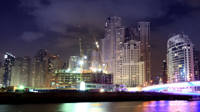 Dubai Marina Timelapse video