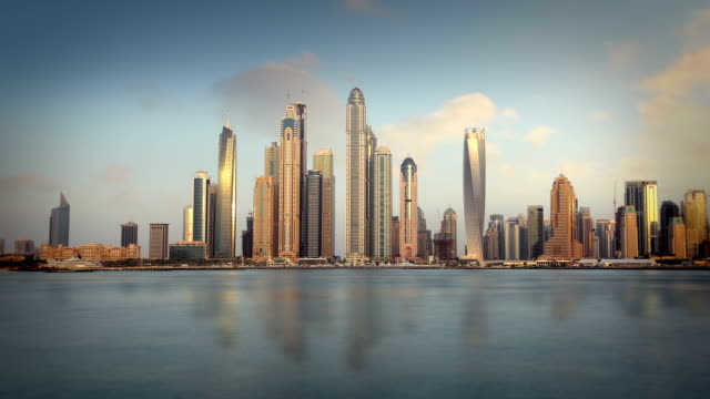 Dubai Skyline video