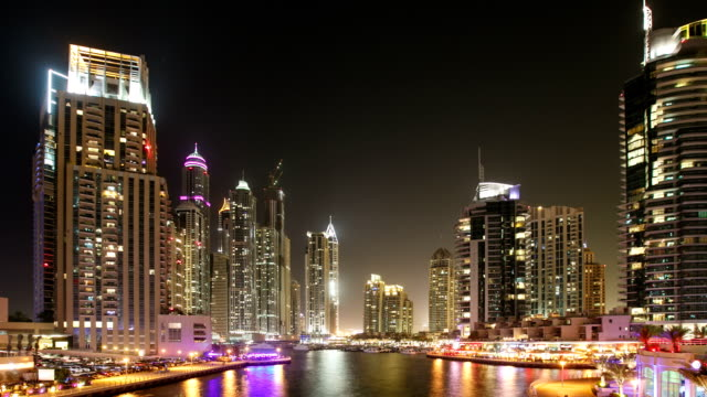 Dubai Time Lapse video