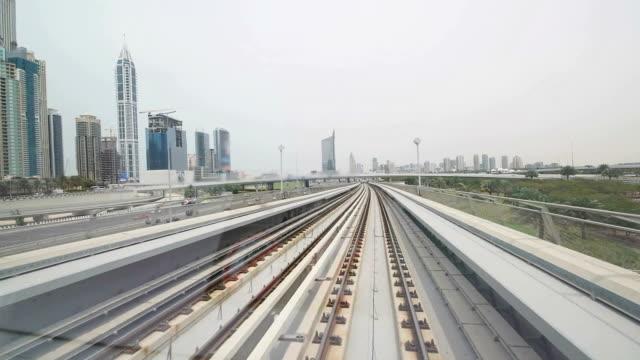 POV Dubai's metro