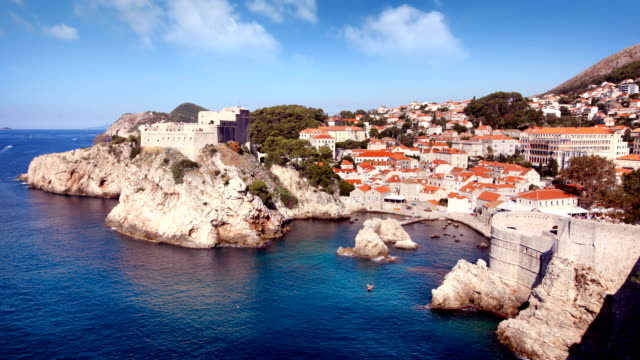Dubrovnik Old Town Timelapse video