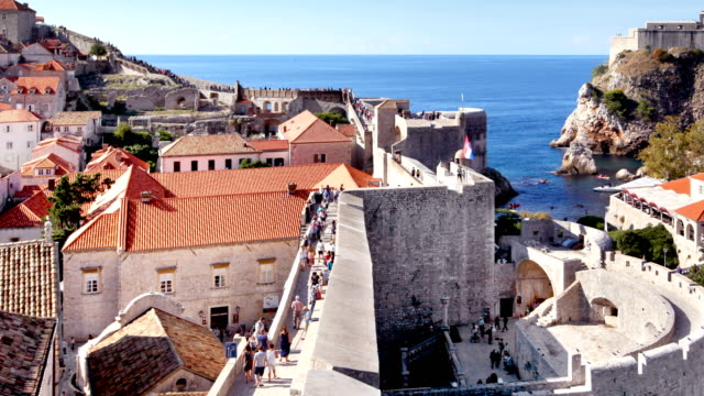 Dubrovnik Old Town Walls Timelapse video