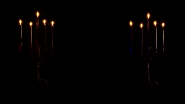 Dueling candelabras video