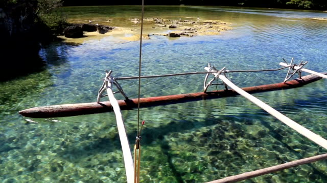 Dugout Canoe Ride on Isle of Pines, New Caledonia video