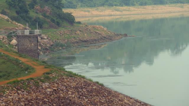 dulhara damm in chattisgarh indian - himachal pradesh stock-videos und b-roll-filmmaterial
