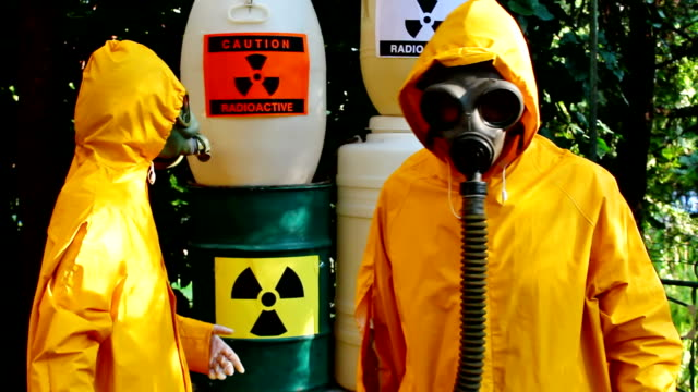 Dump of toxic waste video