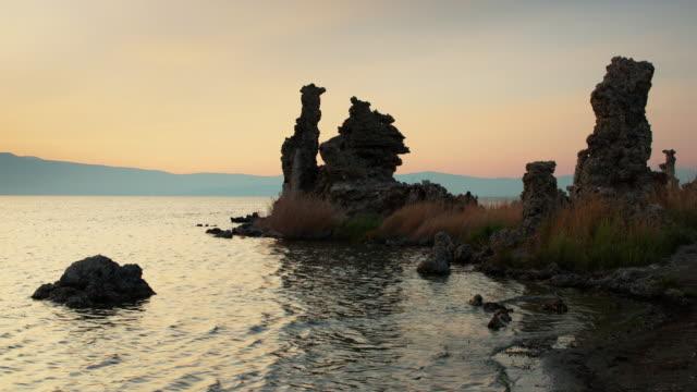 Dusk at Mono Lake Tufa Reserve video