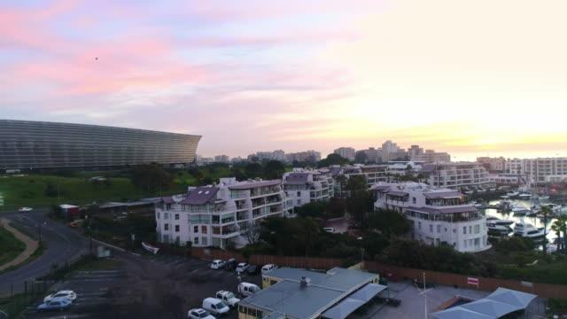 夕暮れ降りかかるケープタウン - 南アフリカ共和国点の映像素材/bロール