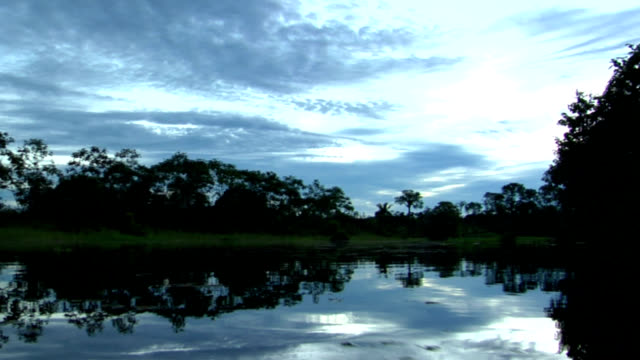 Dusk Reflection in the Amazon video