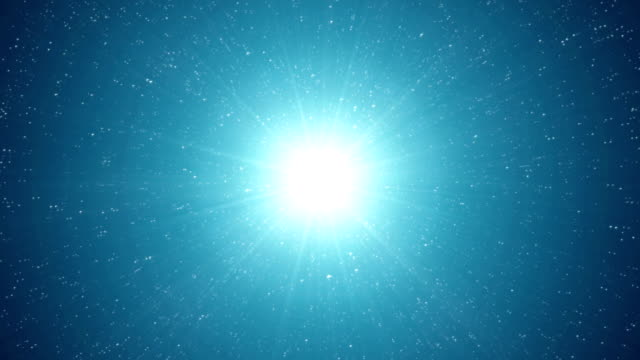 dust particle explosion, light ray effect. - big bang video stock e b–roll