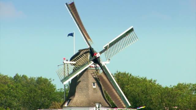 dutch windmill - mala bildbanksvideor och videomaterial från bakom kulisserna