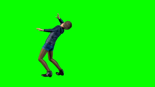 Dying Kid Green Screen video