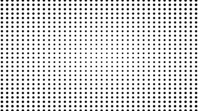 stockvideo's en b-roll-footage met dynamische zwart-wit compositie. halftone-element - halftint