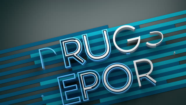 Dynamic Drugs Report Title Animation Background.