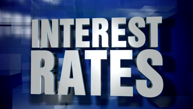 Dynamic Interest Rates Title Transition and Background Plate video